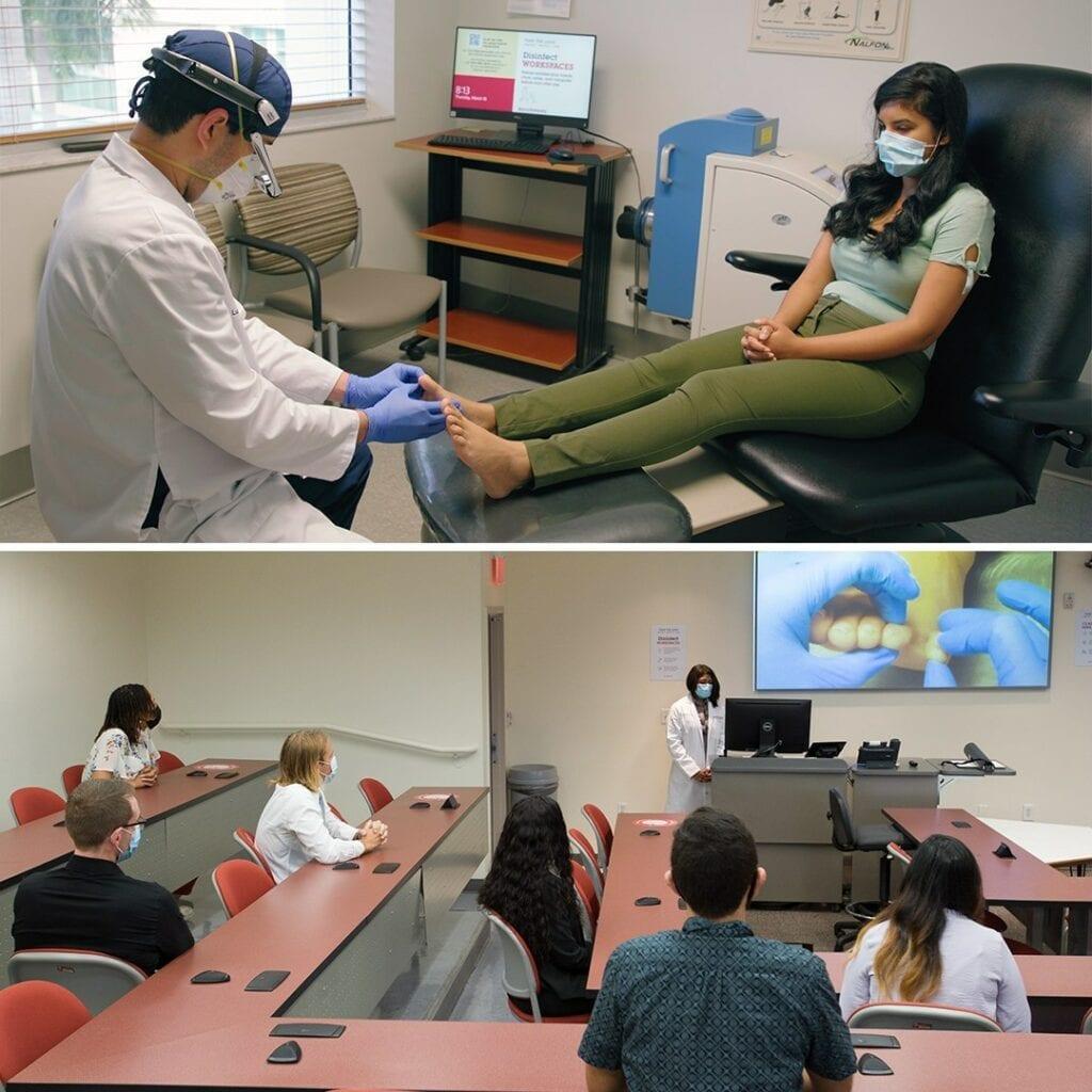 Dr. Luis Rodriguez Anaya and Dr. Bibi Singh demonstrate the Hippo Virtual Care Platform