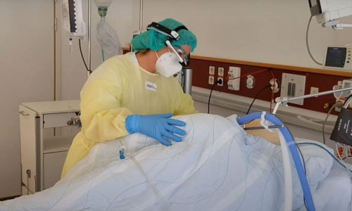Diakonhjemmet Hospital in Oslo, ICU Covid case pilot