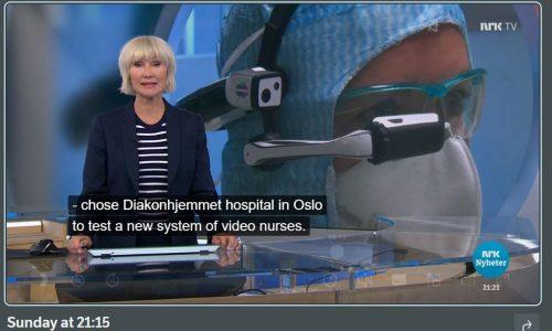 Norway, NRK Nyheter Diakonhjemmet news coverage 5-26-20